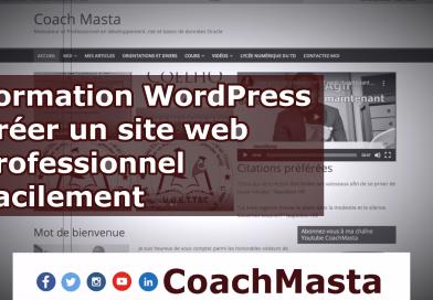 Formation sur WordPress